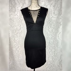 Ruby Rox Black Bodycon Cocktail Dress Size S